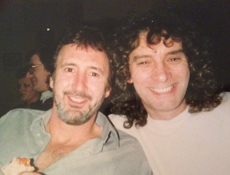 Albert and myself as 'young'  rockers ! I thought I could play guitar until I met him !!!!!----forget it 😊 Terry Slater