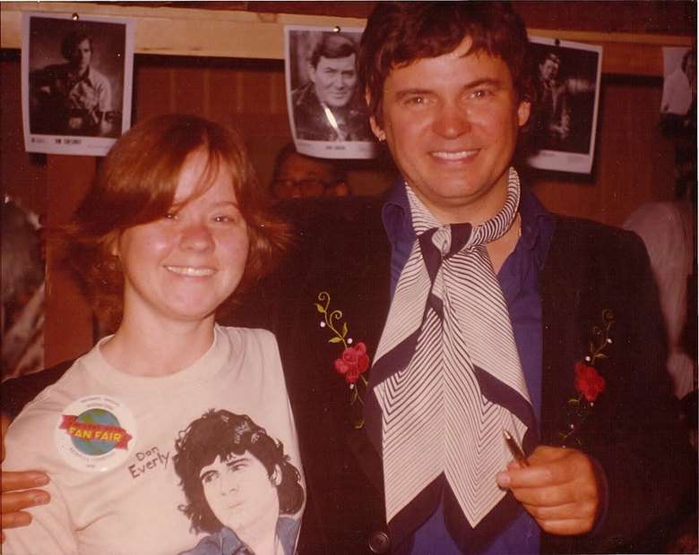 A VERY HAPPY ME WITH DON FAN FAIR  1978